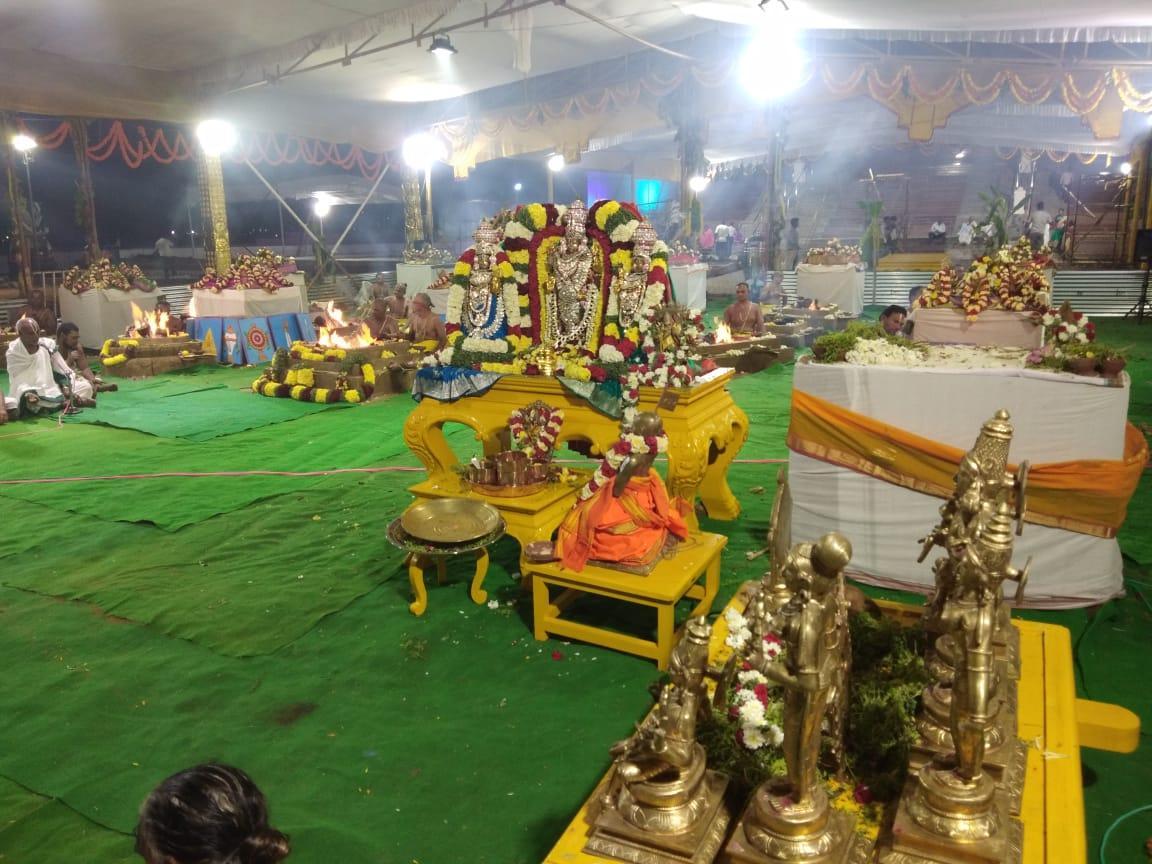 கன்னியாகுமரியில் திருப்பதி...