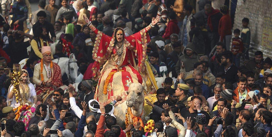ஜனவரி 15-ல் லட்சக்கணக்கானோர் சங்கமிக்கும் `அர்த்த கும்பமேளா'.. அலகாபாத்தில் ஏற்பாடுகள் தீவிரம்!
