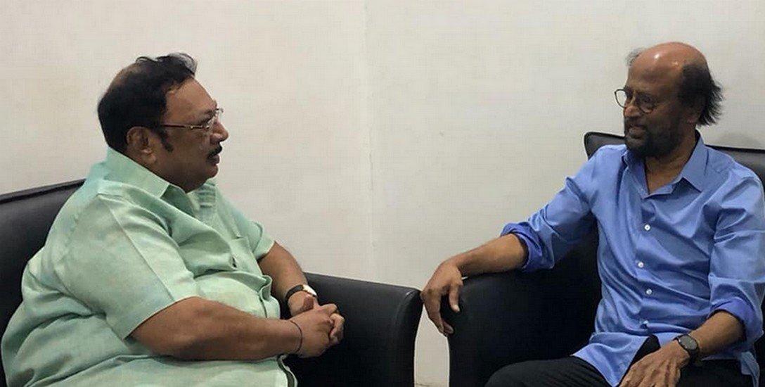 `அரசியல் காலண்டரில் கடைசிப் பக்கம் இல்லை!'- அழகிரியை வாழ்த்திய ரஜினி