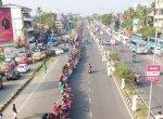 620 கி.மீ; ஐம்பது லட்சம் பேர் - கேரளாவை அதிரவைத்த பெண்கள்
