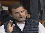 `அ.தி.மு.க எம்.பி-க்கள் பா.ஜ.க-வுக்கு நல்லா சேவகம் செய்றீங்க!' -  மக்களவையில் கடுப்பான ராகுல்