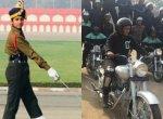 முதன்முறையாக ஆண் வீரர்கள் குழுவை தலைமை தாங்கும் பெண்கள்! - இந்திய ராணுவ வரலாற்றின் மைல் கல் #ArmyDay