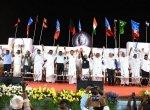 'மோடியை வீட்டுக்கு அனுப்புவோம்' - தேசம் காப்போம் மாநாட்டில் முழங்கியத் தலைவர்கள்