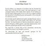 ``அனுமதி தவறாகப் பயன்படுத்தப்பட்டிருக்கிறது'' - லயோலா கல்லூரி நிர்வாகம் விளக்கம்!