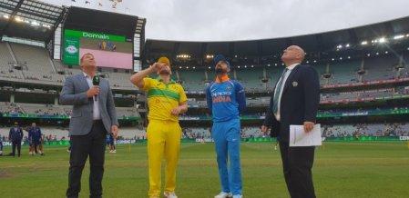 விஜய் சங்கர் அறிமுகம்! - மூன்றாவது முறையாக இந்திய அணி சேஸிங் #AUSvIND