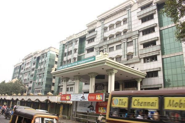 சென்னை மருத்துவக் கல்லூரி, மருத்துவமனை