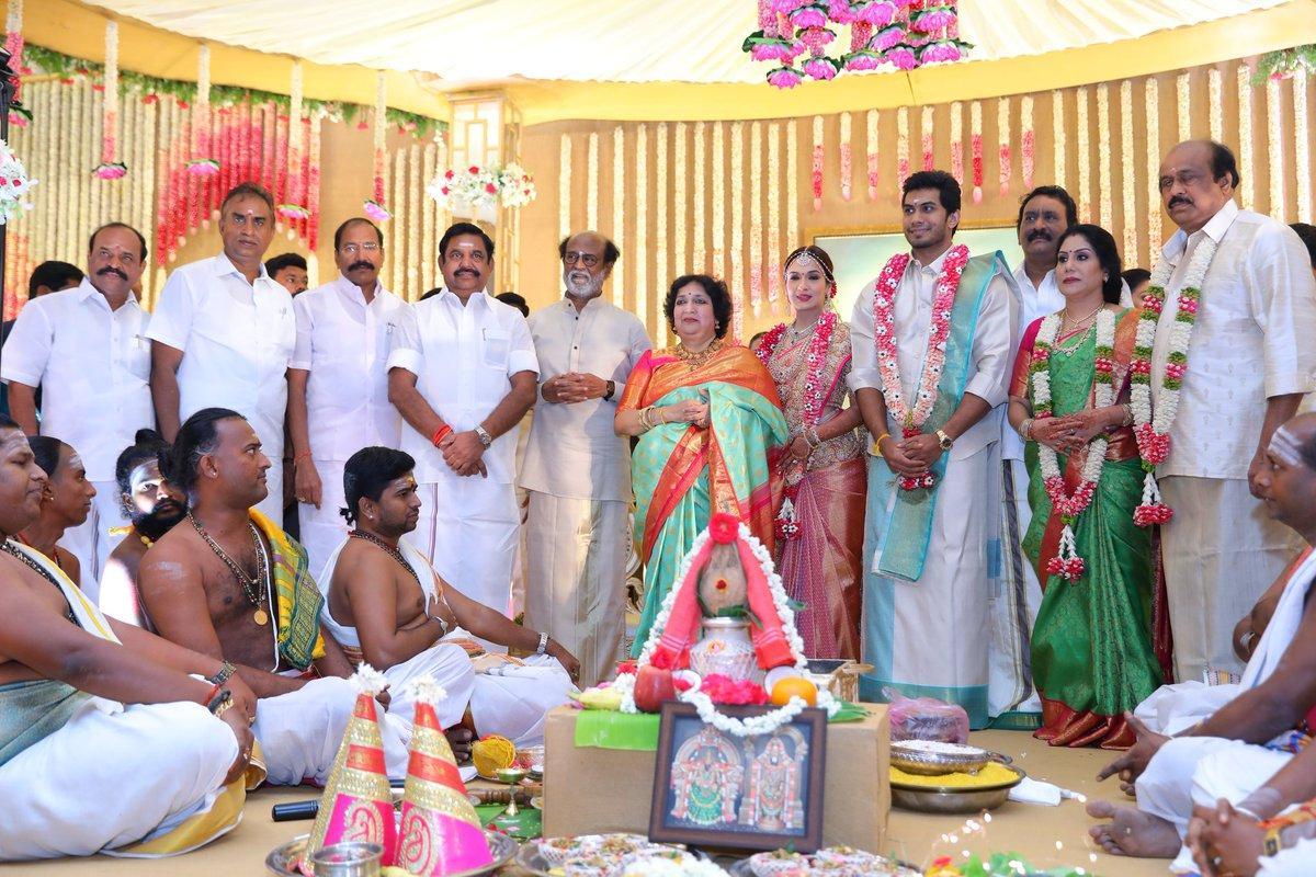 சௌந்தர்யா - விசாகன்