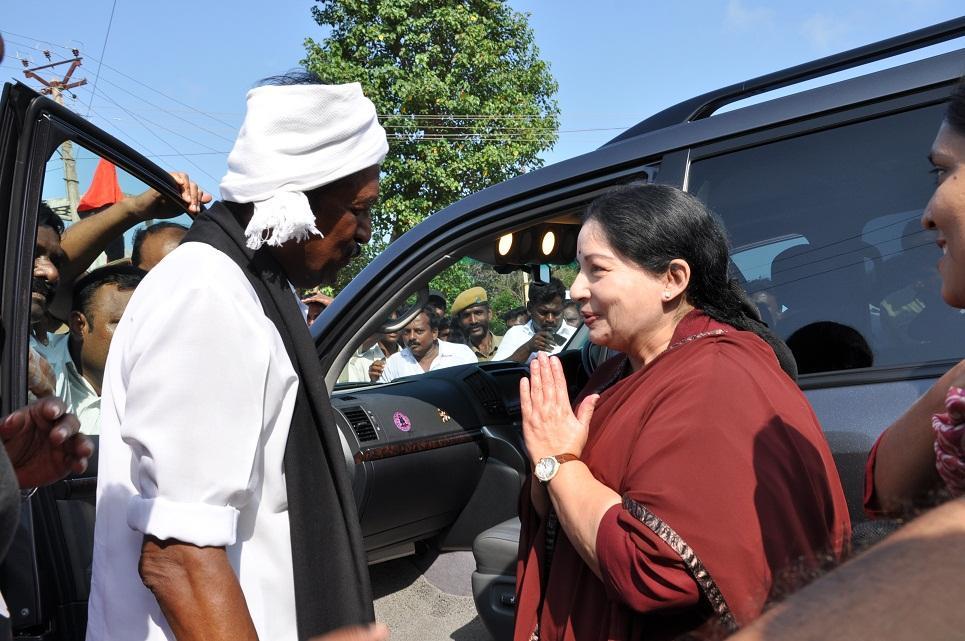 வைகோ-ஜெயலலிதா சந்திப்பு