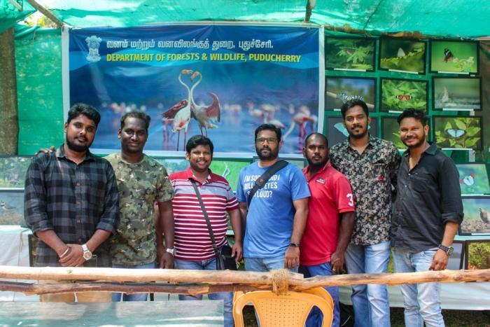 Puducherry nature and wildlife forum குழு