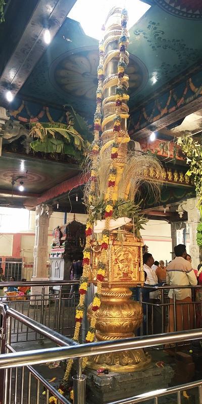 மாரியம்மன் கொடிமரம்