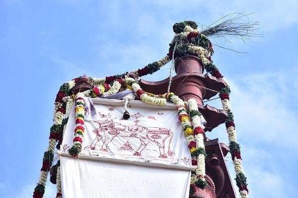 திருவாரூர் ரிஷப கொடி