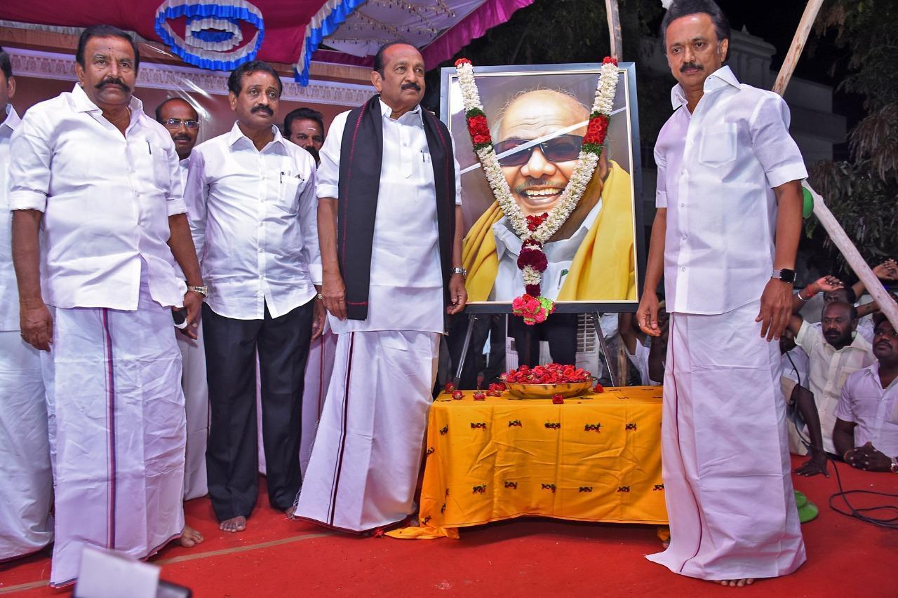 ஸ்டாலின் - வைகோ