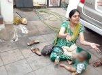`நயவஞ்சகமாக ஏமாத்திட்டாங்க!'- 8 மாதக் குழந்தையுடன் தர்ணாவில் பெண் இன்ஜினீயர்