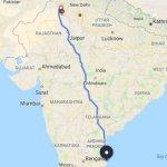 `இது குறும்புக்காரக் கடவுளின் வேலை!'- ராஜஸ்தானிலிருந்து பெங்களூருவுக்குப் பயணித்த ஸ்விக்கி