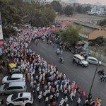 மீண்டும் மகாராஷ்டிராவில் ஒரு பிரமாண்ட விவசாயிகள் பேரணி!