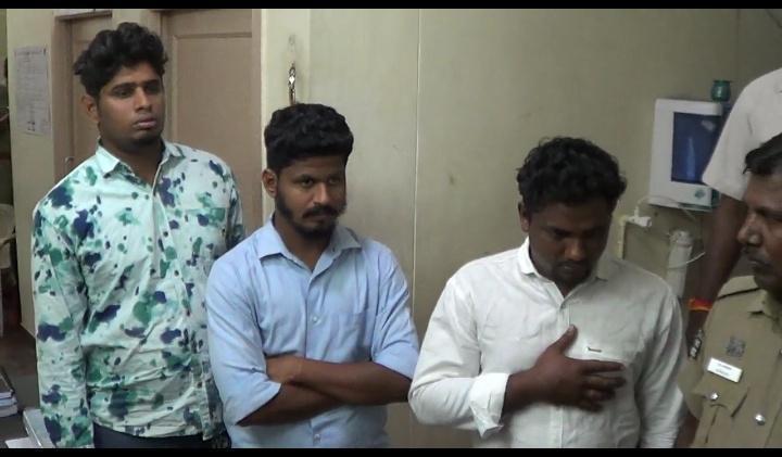 பொள்ளாச்சி ஆபாச வீடியோ விவகாரத்தில் கைது செய்யப்பட்டவர்கள்