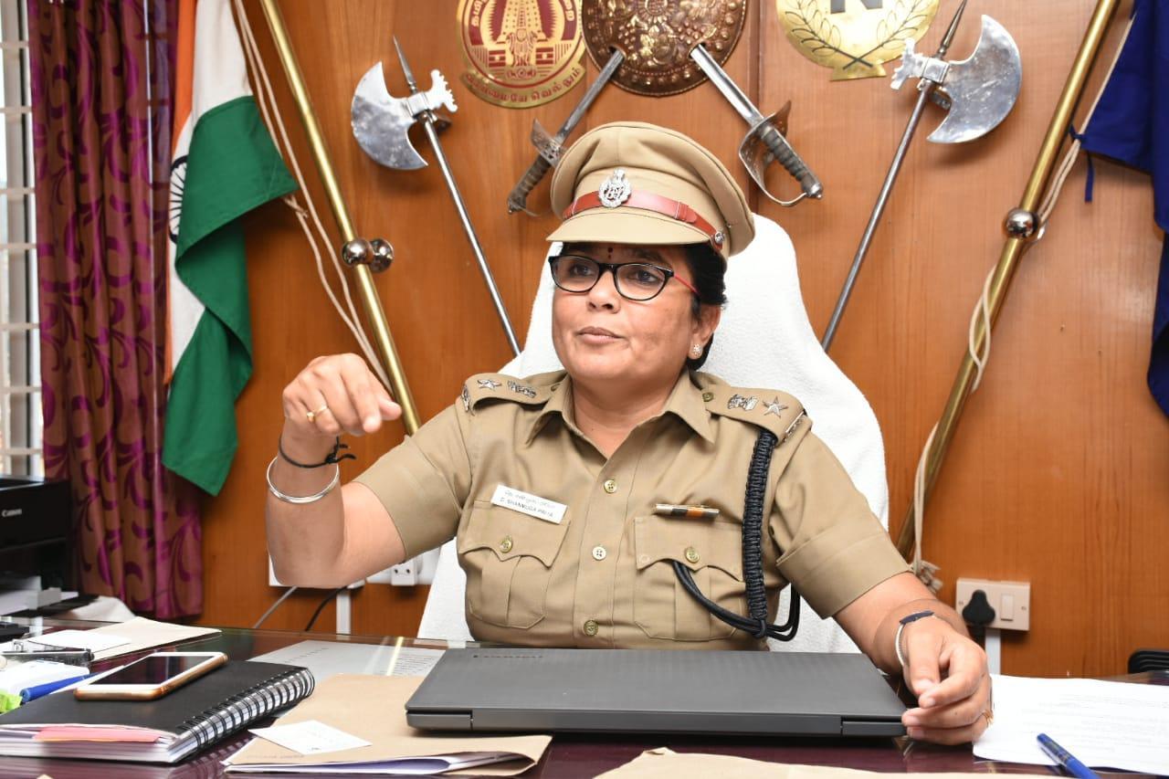 நீலகிரி எஸ்.பி சண்முகப்பிரியா