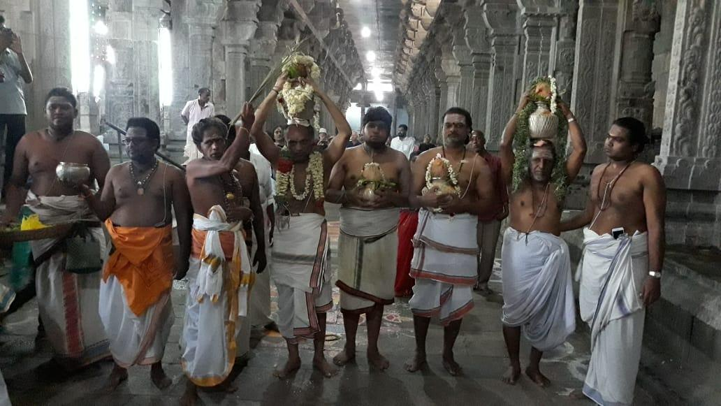 சோமாஸ்கந்தர் சிலை பூஜை