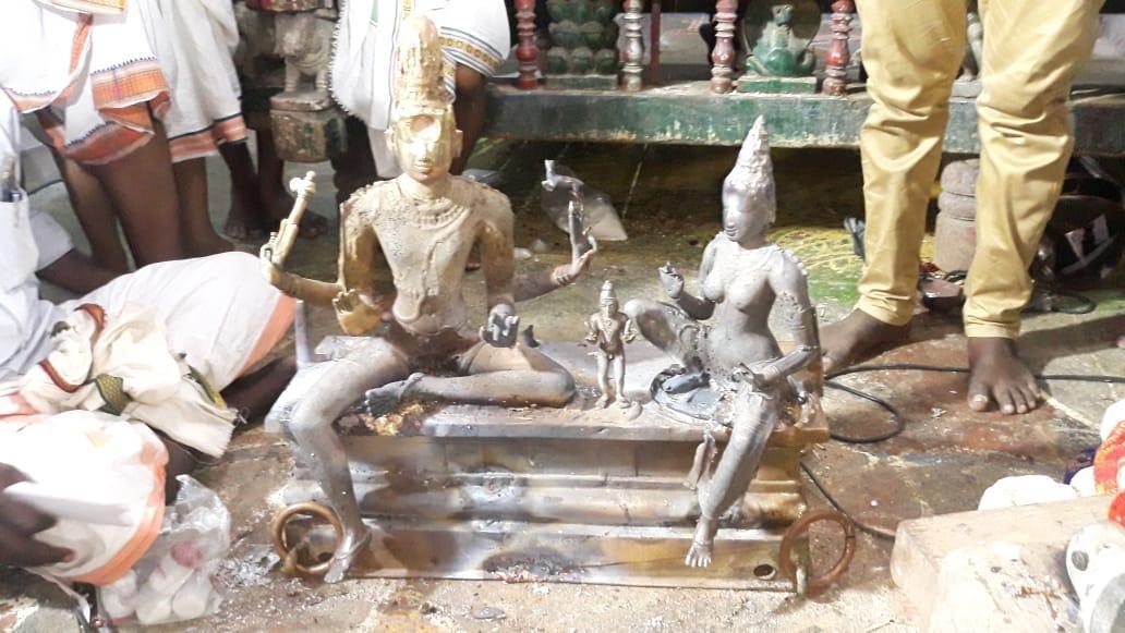 சோமாஸ்கந்தர் சிரசெய்யும் பணி