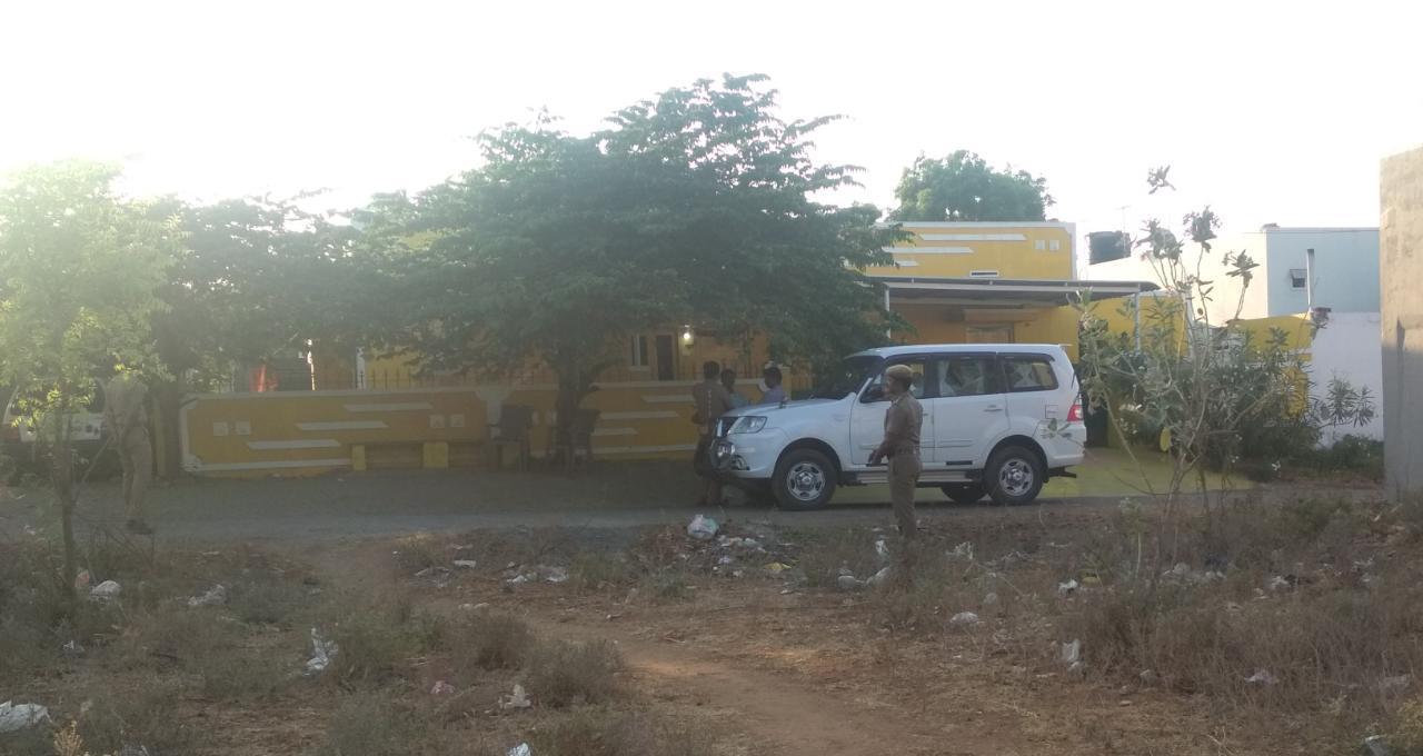 திருநாவுக்கரசின் வீட்டில் சி.பி.சி.ஐ.டி விசாரணை