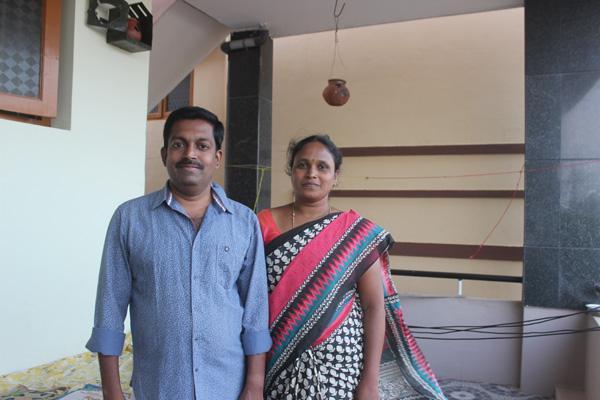 ராஜசேகரன் வனிதா தம்பதி