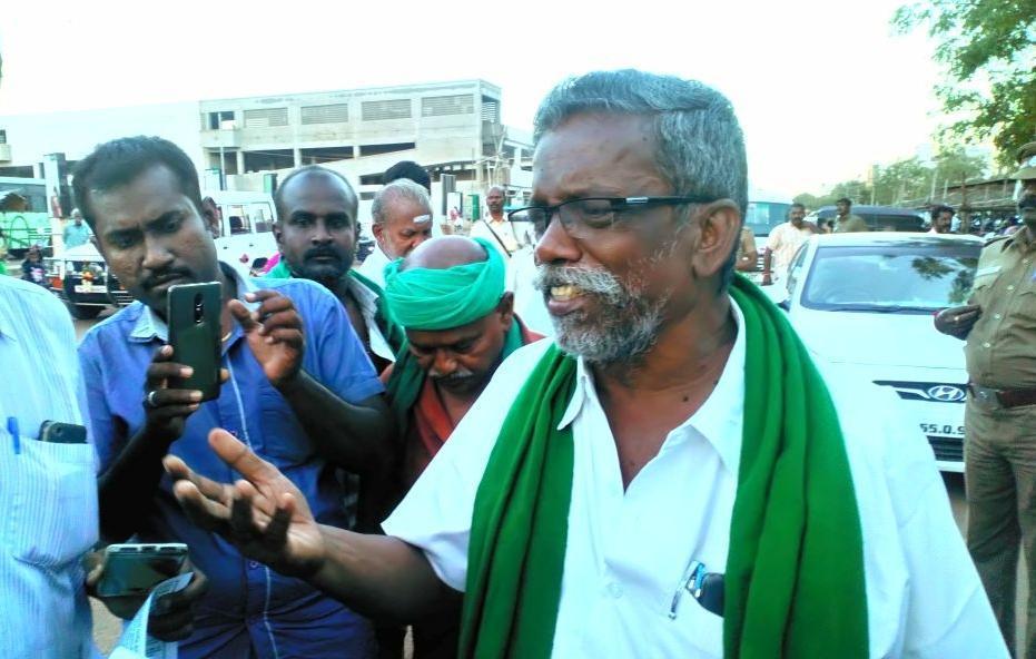 அய்யாகண்ணு - தேசிய தென்னிந்திய நதிகள் இணைப்பு விவசாய சங்கத் தலைவர்