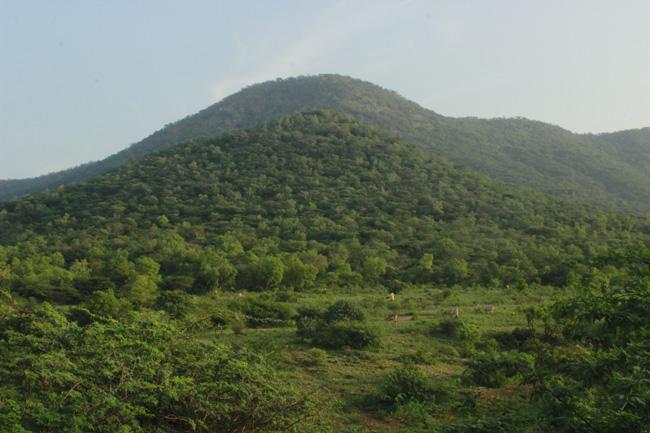 கடவூரைச் சுற்றி இருக்கும் மலை கிராமங்கள்