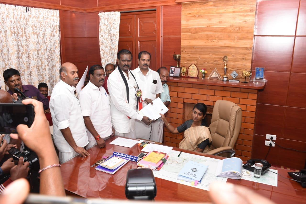 வேட்பாளர் ராமசாமி
