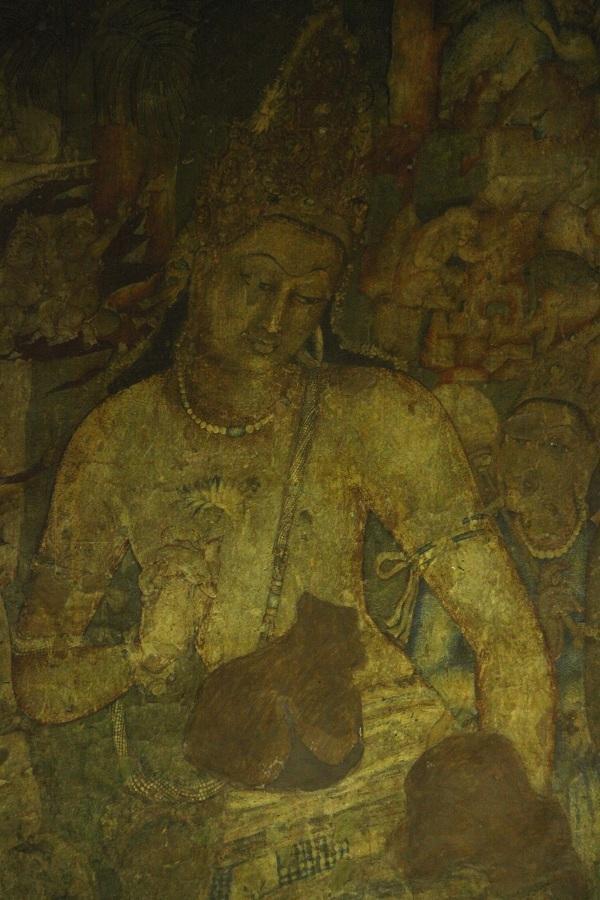 போதிசத்துவர் பத்மபானி அஜந்தா ஓவியம்