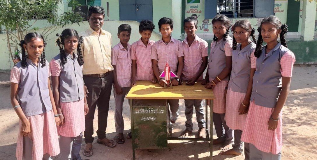 ``ராக்கெட் எரிபொருள் செலவைக் குறைக்கப்போறோம்'' அரசுப் பள்ளி மாணவர்களின் நம்பிக்கை முயற்சி #CelebrateGovtSchool
