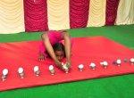 யோகாசனத்தில் புதிய சாதனை - நோபல் ரெக்கார்ட்ஸில் இடம்பிடித்த தமிழக மாணவி