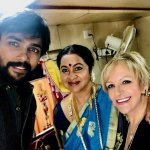 `சின்னத்திரைக்கு 2 மாதம் பிரேக்' - இயக்குநர் சரண் படத்தில் இணைந்திருக்கும் நடிகை ராதிகா!