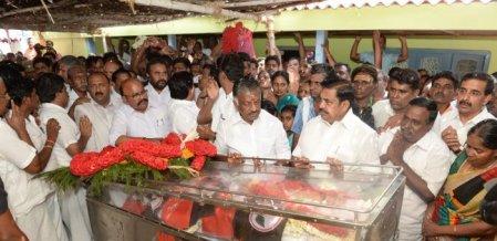`கனகராஜ் மறைவு பேரிழப்பு!'  - கலங்கிய எடப்பாடி பழனிசாமி