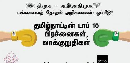 தி.மு.க - அ.தி.மு.க வாக்குறுதிகள்... தமிழ்நாட்டின் பிரச்னைகளை முன்வைத்து ஒரு ஒப்பீடு! #VikatanInfographics