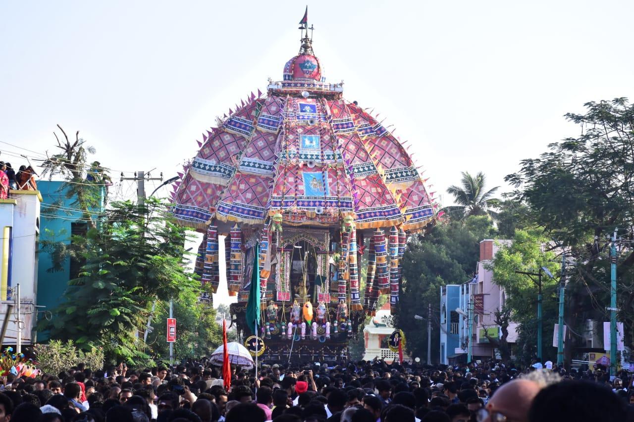 திருவாரூர் ஆழித் தேரோட்டம்