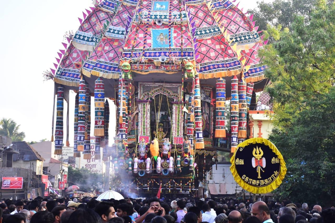 திருவாரூர் ஆழித்தேரோட்டம்