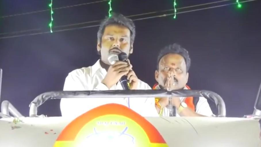 விஜயகாந்த்தின் மகன் விஜயபிரபாகரன்