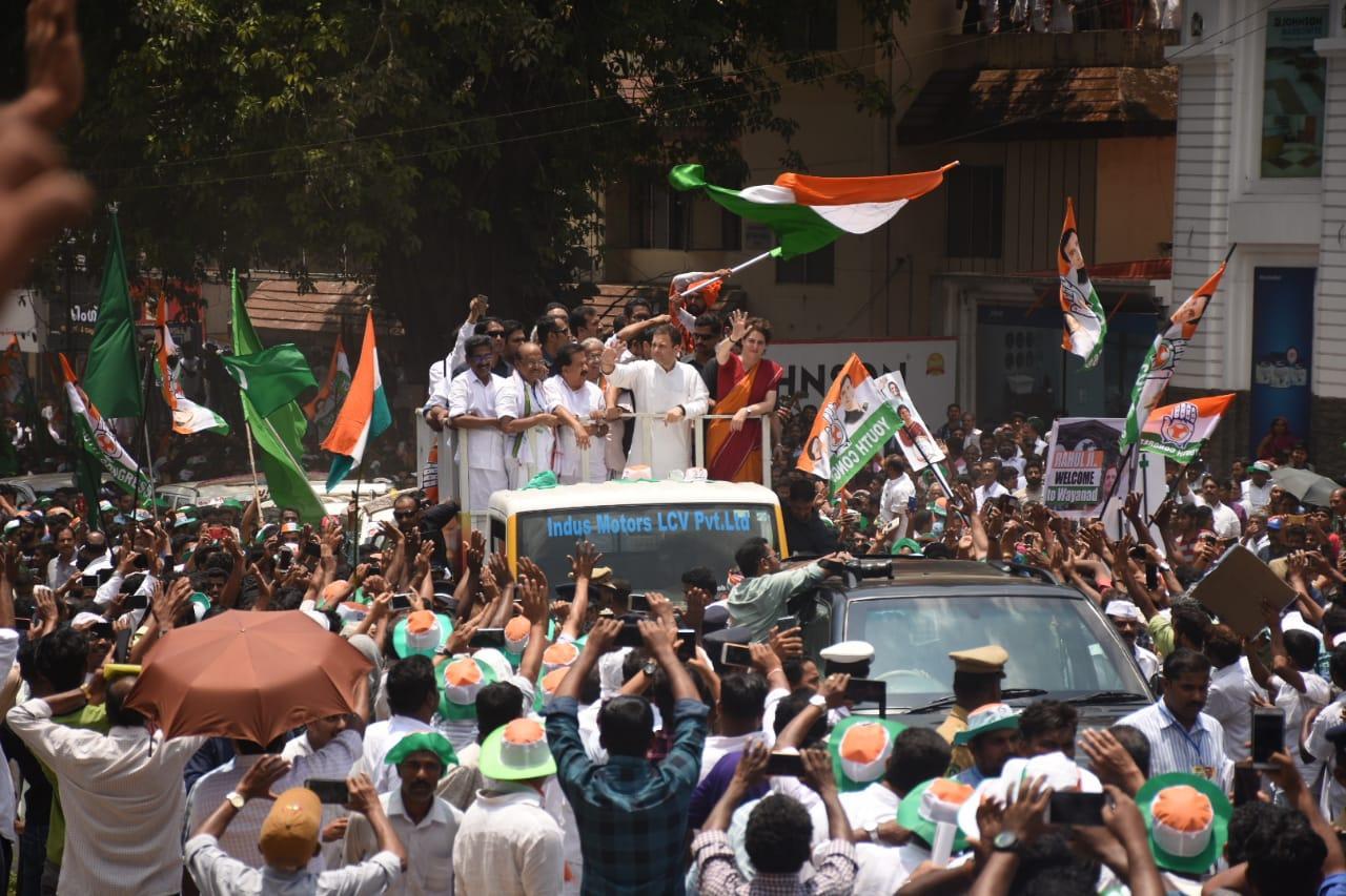 பிரியங்கா காந்தியுடன் ராகுல் காந்தி