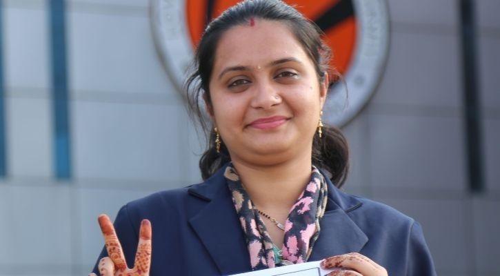 இந்திய மாணவி கவிதா ஃபாமன்