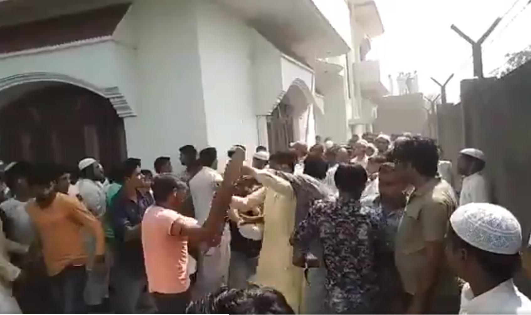 பிரியாணிக்காகக் காங்கிரஸ் தொண்டர்கள் அடிதடி