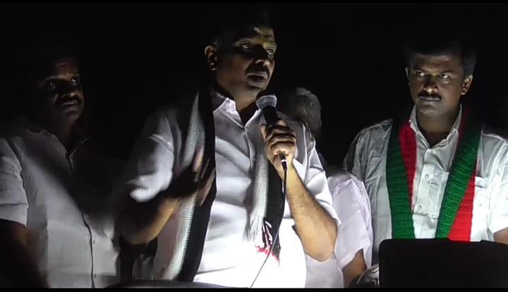 எம்.ஆர்.விஜயபாஸ்கர் பிரசாரம்