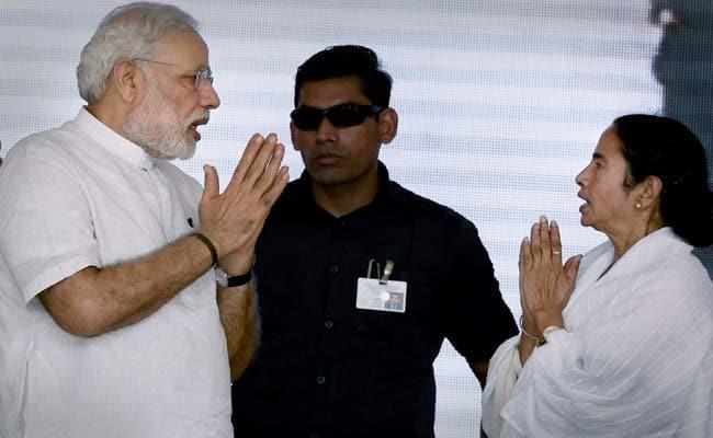 மம்தா பானர்ஜி -  நரேந்திர மோடி
