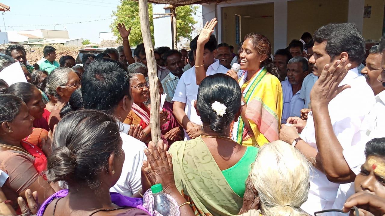 ஜோதிமணி பிரசாரம்