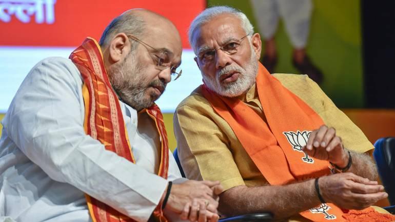 தேர்தல் ஆலோசனையில் அமித் ஷா - மோடி