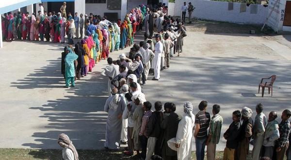 ஜம்மு தொகுதியில் தேர்தல்
