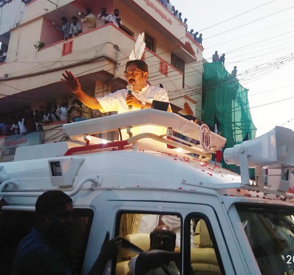 ஜெயங்கொண்டத்தில் பிரசாரம்