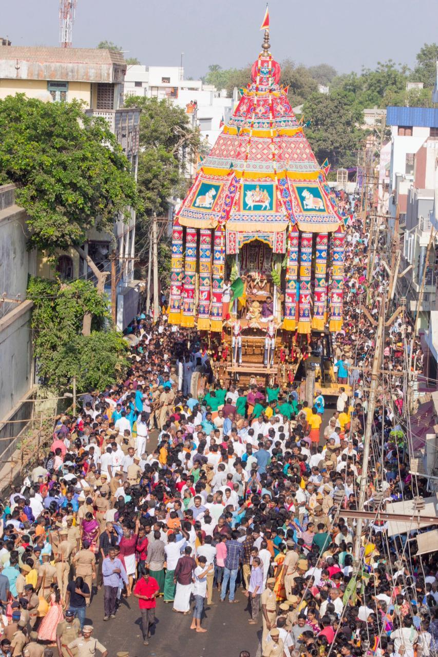 பெரியகோயில் சித்திரை திருவிழா தேரோட்டம்