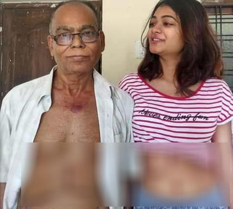 தந்தையுடன் ராகி தத்தா