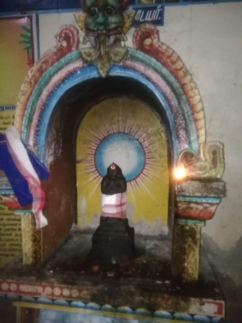 திருநீலகண்டர், ஏழூர் பல்லக்கு