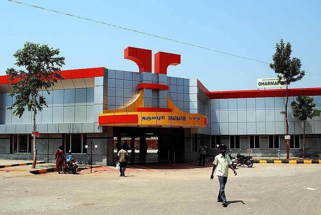 தர்மபுரி ரயில் நிலையம்